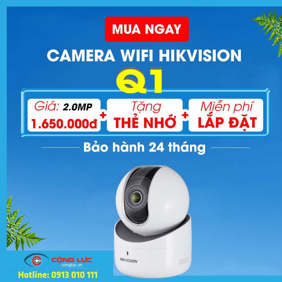 Camera ip wifi Hikvision DS-2CV2Q21EFD-IW 2.0MP