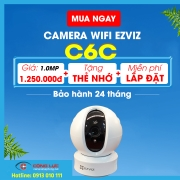 Camera Wifi Ezviz C6C (Ez360 720P)