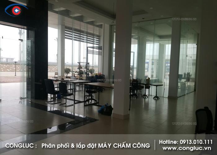 Lắp máy chấm công tại trạm dừng nghỉ dịch vụ cao tốc Hà Nội Hải Phòng