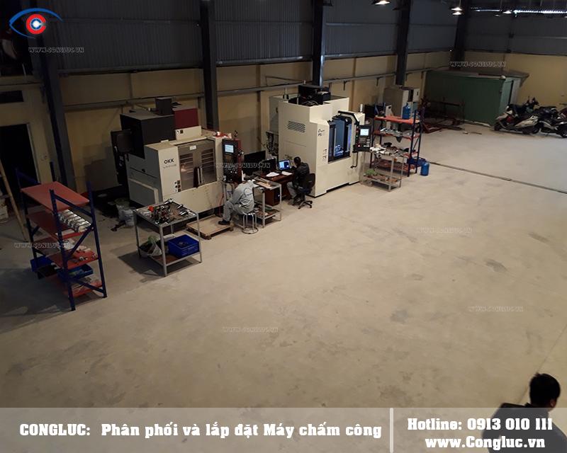 Lắp máy chấm công vân tay tại An Dương công ty HPTECH