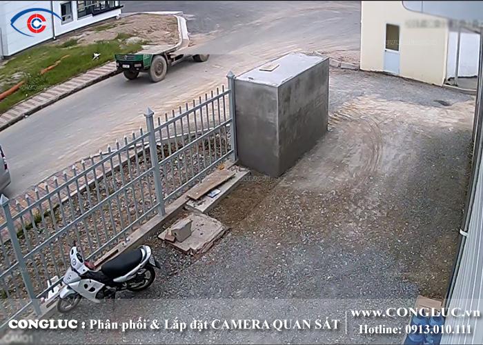 lắp đặt camera giám sát tại kCN Vsip hải phòng