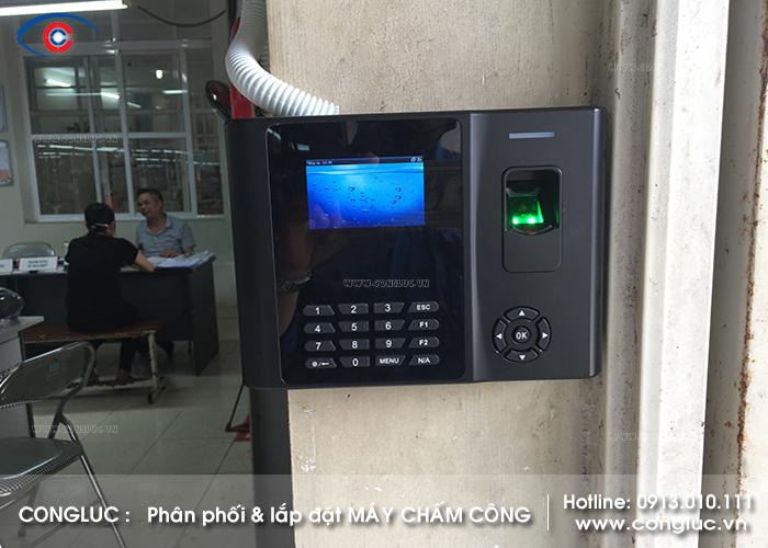 Lắp máy chấm công cho công ty may Comtec tại Tiên Lãng Hải Phòng