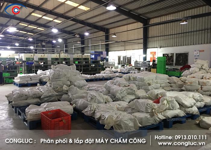 Lắp máy chấm công cho công ty Thành Long tại Kim Thành Hải Dương