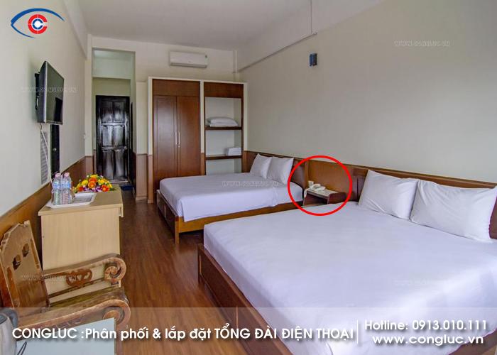 Lắp đặt tổng đài điện thoại nội bộ nhà nghỉ tại Vân Đồn Quảng Ninh