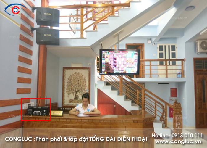 Lắp hệ thống tổng đài điện thoại nội bộ cho nhà nghỉ tại Vân Đồn Quảng Ninh