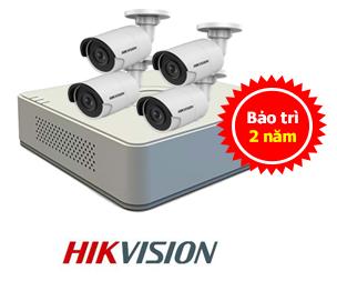 báo giá trọn bộ camera quan sát hikvision giá rẻ