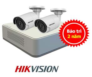 lắp camera hikvision trọn bộ giá rẻ tại hải phòng