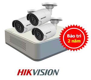 lắp trọn bộ camera hikvision giá rẻ ở Hải Phòng