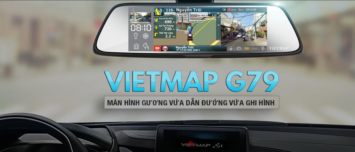 Camera giám sát hành trình VietMap G79 giá rẻ