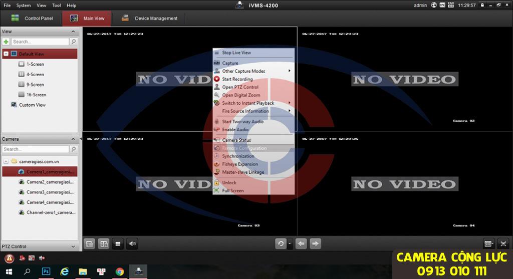 cách đổi mật khẩu camera hikvision