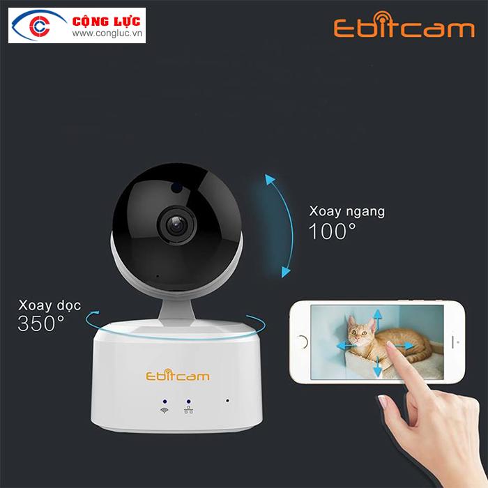 Bán camera ip wifi ebitcam 2.0mp giá rẻ