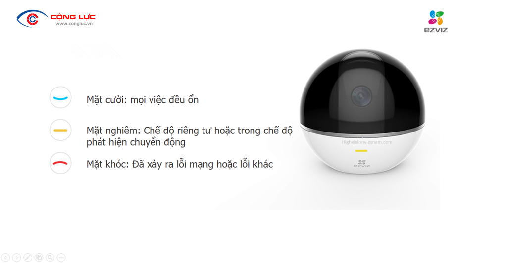 Camera IP C6T MINI 360 PLUS 1080P 3