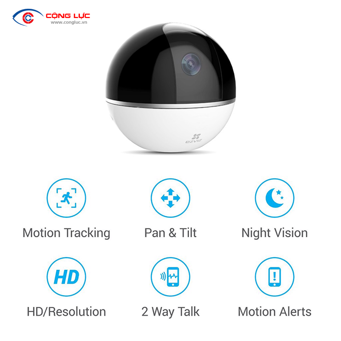 Camera IP C6T MINI 360 PLUS 1080P