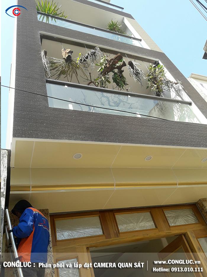 Lắp camera quan sát gia đình tại Lê Thánh Tông Hải Phòng