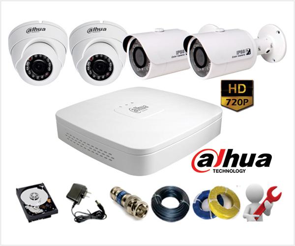 Cho thuê camera quan sát trọn gói giá rẻ tại Hải Phòng