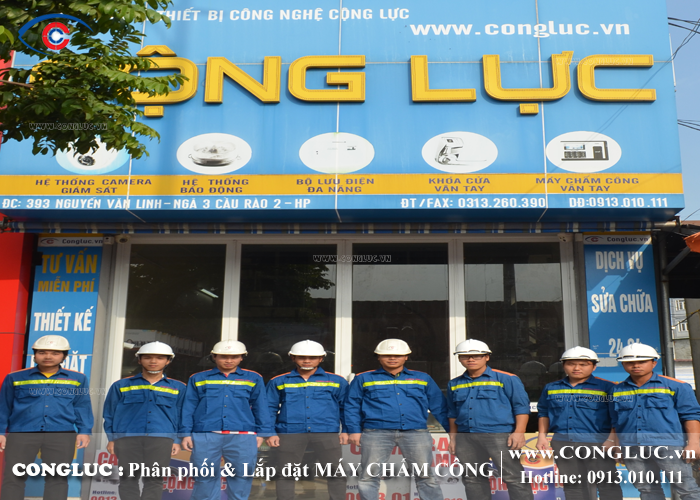 công ty cho thuê máy chấm công giá rẻ tại Hải Phòng