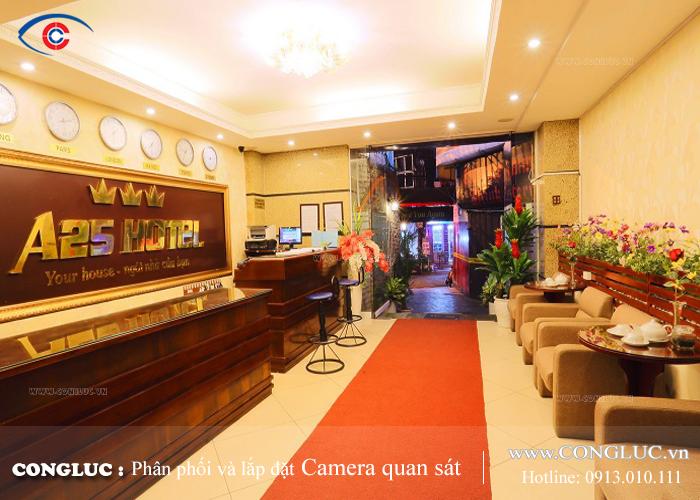 Lắp đặt camera giám sát an ninh nhà nghỉ khách sạn