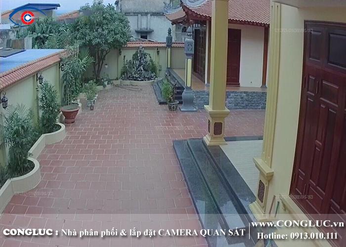 lắp trọn bộ camera quan sát giá rẻ tại hải phòng