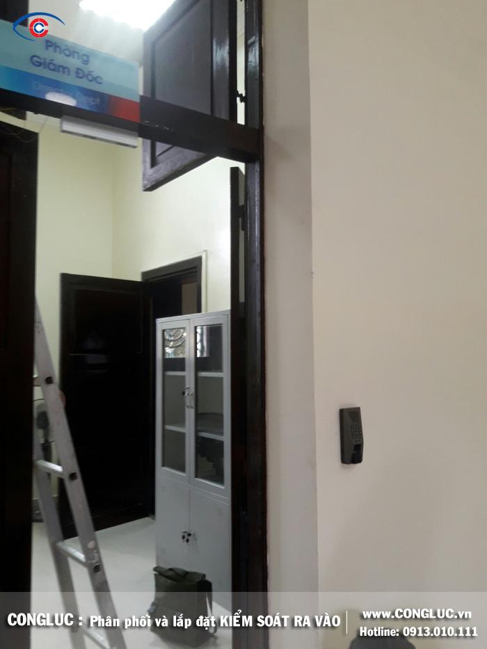Lắp đặt kiểm soát cửa ra vào ngân hàng Viettinbank 36 điện biên phủ Hải Phòng