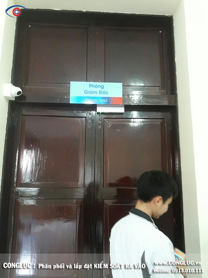 Lắp kiểm soát ra vào Ngân hàng Viettinbank 36 Điện Biên Phủ Hải Phòng