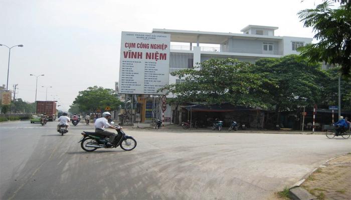 Lắp đặt kiểm soát cửa ra vào tại cụm công nghiệp Vĩnh Niệm