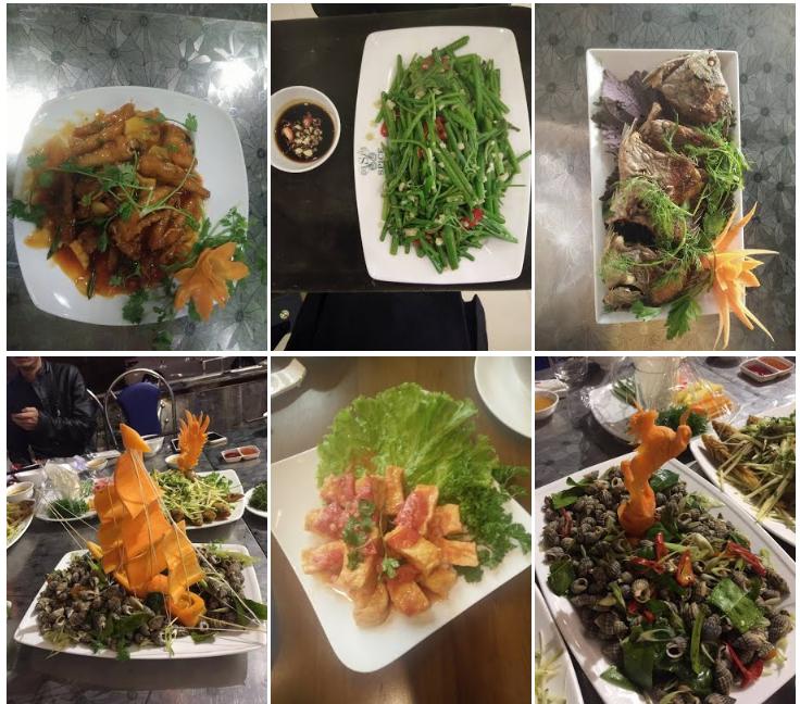 Thực đơn nhà hàng Kong Hải Sản Hạ Long Quảng Ninh