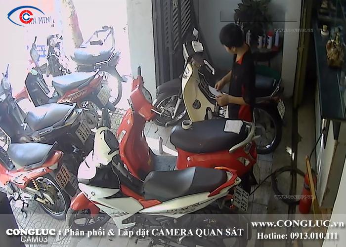 lắp camera giám sát tại tiệm cầm đồ Hoàng Kim 4