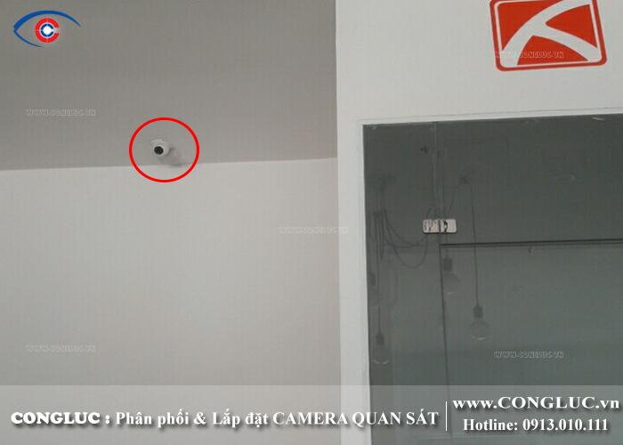 lắp camera quan sát tại hải phòng cho công ty nội thất HT