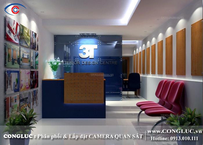 lắp camera quan sát cho công ty nội thất HT Hải Phòng