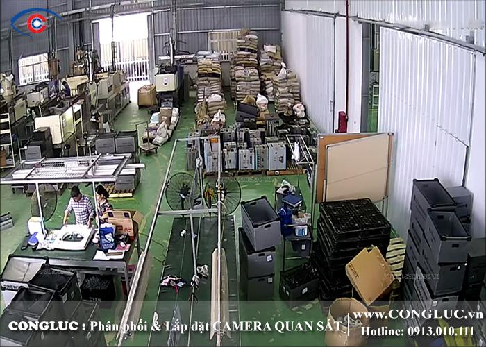 lắp đặt camera quan sát samsung cho nhà máy hải phòng