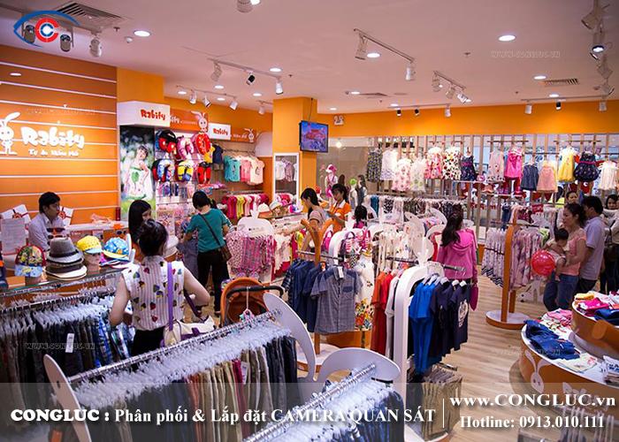 lắp camera giám sát tại siêu thị BigC Hải Phòng - Shop thời trang Rabity