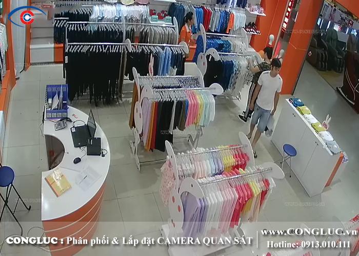 lắp camera quan sát hikvision cho shop thời trang Rabity tại BigC Hải Phòng
