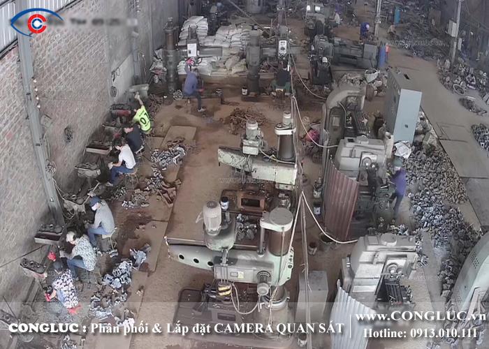 lắp đặt camera quan sát ở cụm công nghiệp an tràng hải phòng