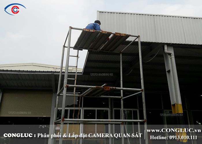 lắp camera giám sát tại An Dương - Công ty Hanmi Hải Phòng