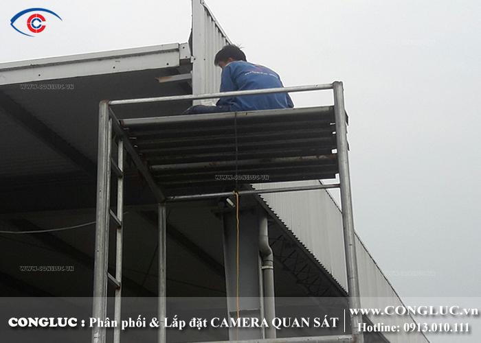 lắp camera quan sát cho công ty hanmi hải phòng