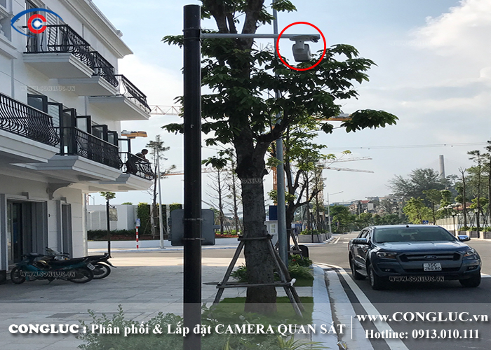 lắp camera quan sát tại khu đô thị tràng cát quận hải an