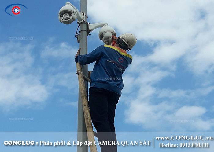 lắp camera quan sát cho công ty Việt Hàn