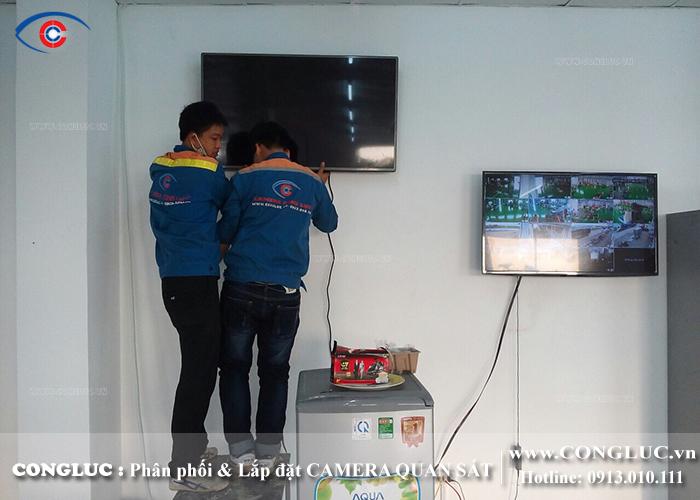 lắp camera quan sát nhà máy thép công ty Việt Hàn Hải Phòng