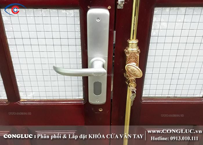 lắp khóa cửa vân tay tại tp hải phòng
