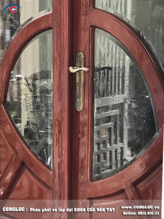 Lắp khóa vân tay tại Hai Bà Trưng Hải Phòng cho gia đình