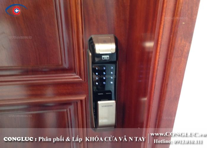 Lắp khóa vân tay cho tòa nhà SHP Plaza Lạch Tray Hải Phòng