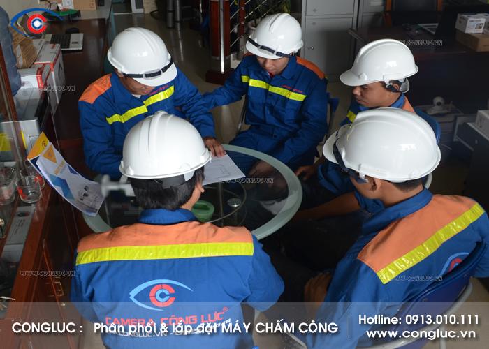 Thợ lắp máy chấm công chuyên nghiệp tại Quận Lê Chân