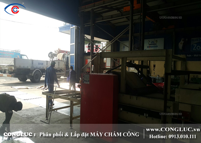 Lắp đặt máy chấm công cho xưởng gỗ Hoàng Huy Hải Phòng