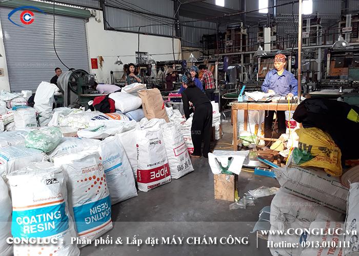 Lắp máy chấm công cho nhà xưởng tại An Dương Hải Phòng