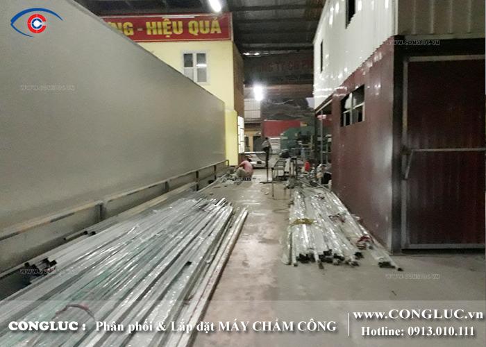 lắp máy chấm công cho công ty bảo tiên tại huyện thủy nguyên hải phòng