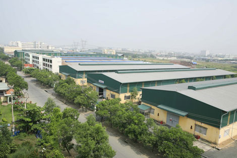 Giải pháp chấm công ở cụm công nghiệp quán trữ hải phòng