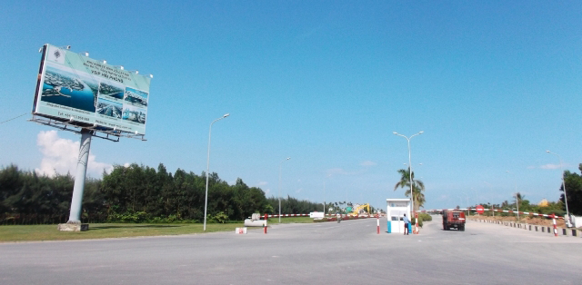 lắp đặt máy chấm công tại KCN VSip Hải Phòng