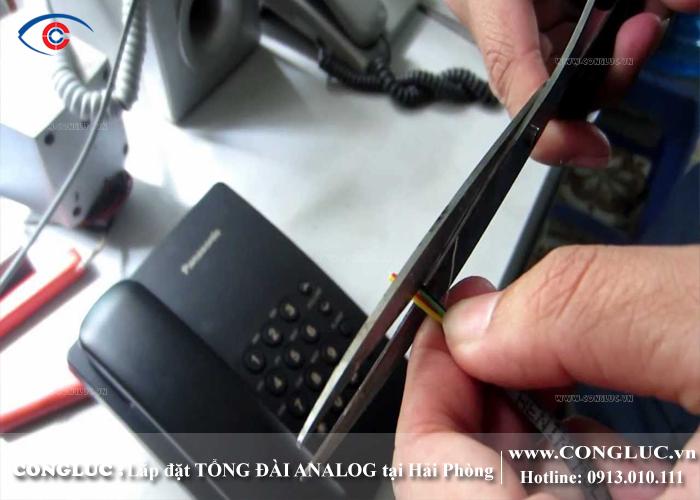 lắp tổng đài điện thoại ở ccn tân liên hải phòng