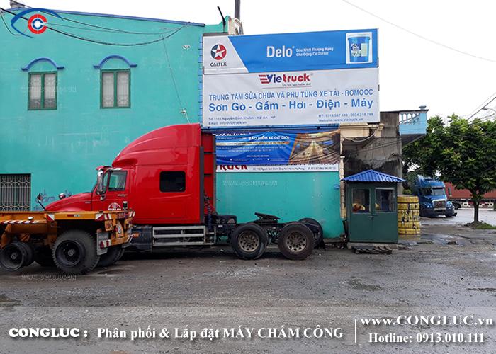 lắp máy chấm công tại quận Hải An trung tâm sửa chữa Vietruck