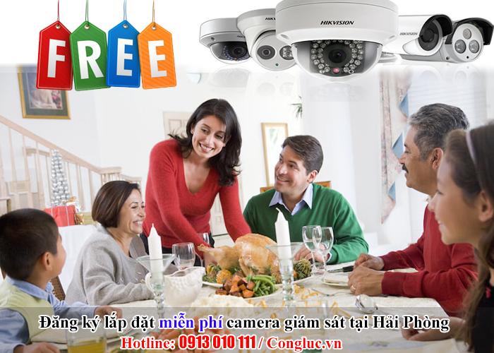 đăng ký lắp đặt camera giám sát miễn phí tại Hải Phòng